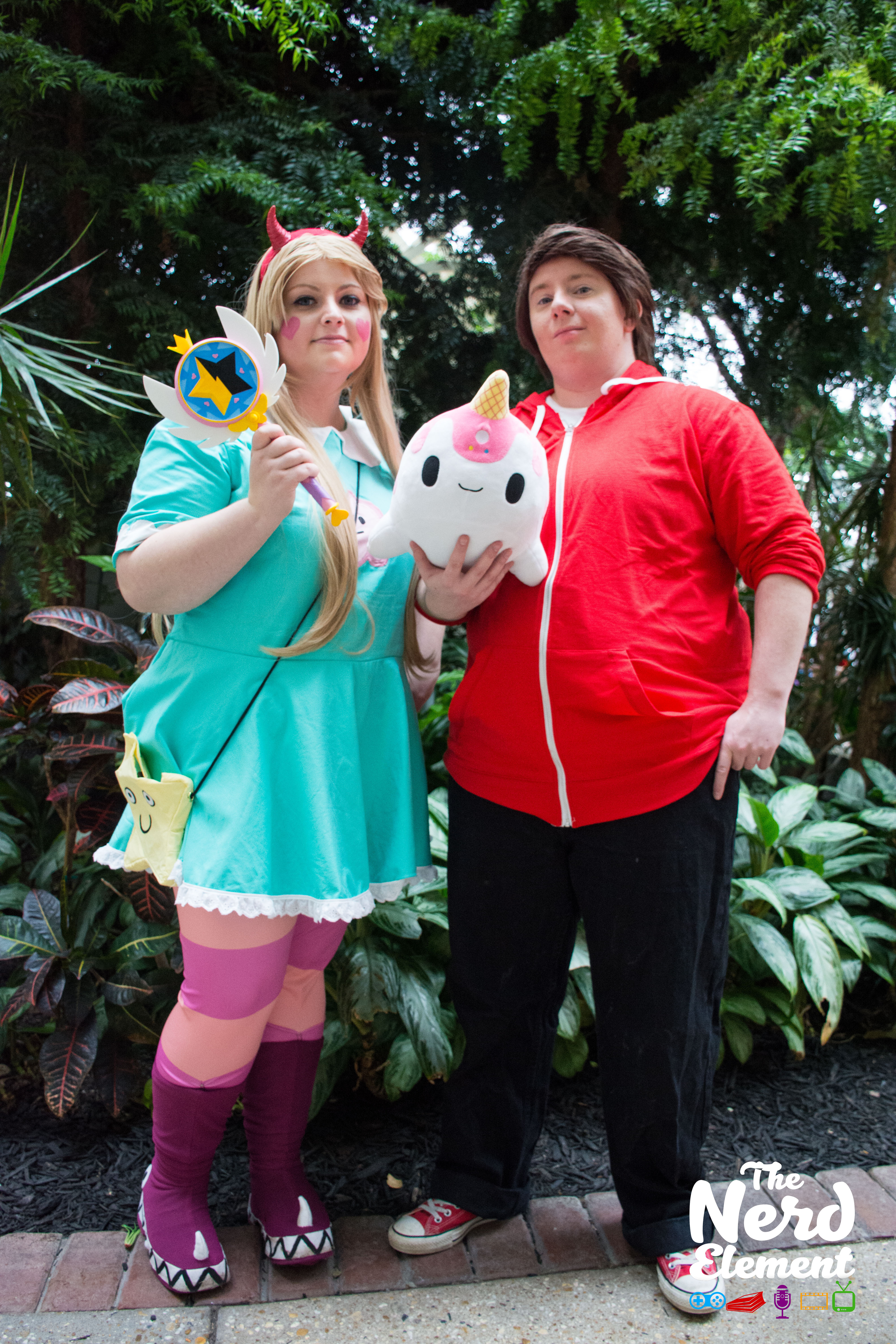 Star and Marco - Disney's Star Vs. The Forces of Evil Cosplayers: Elikathal (ig) and @epicpaopu (ig)