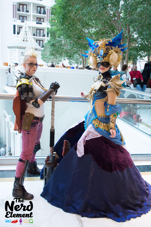 Queen of Junkertown - Overwatch Masquerade Armor - Guild Wars Cosplayers: @hanari502(ig) and @skycosplay (ig)