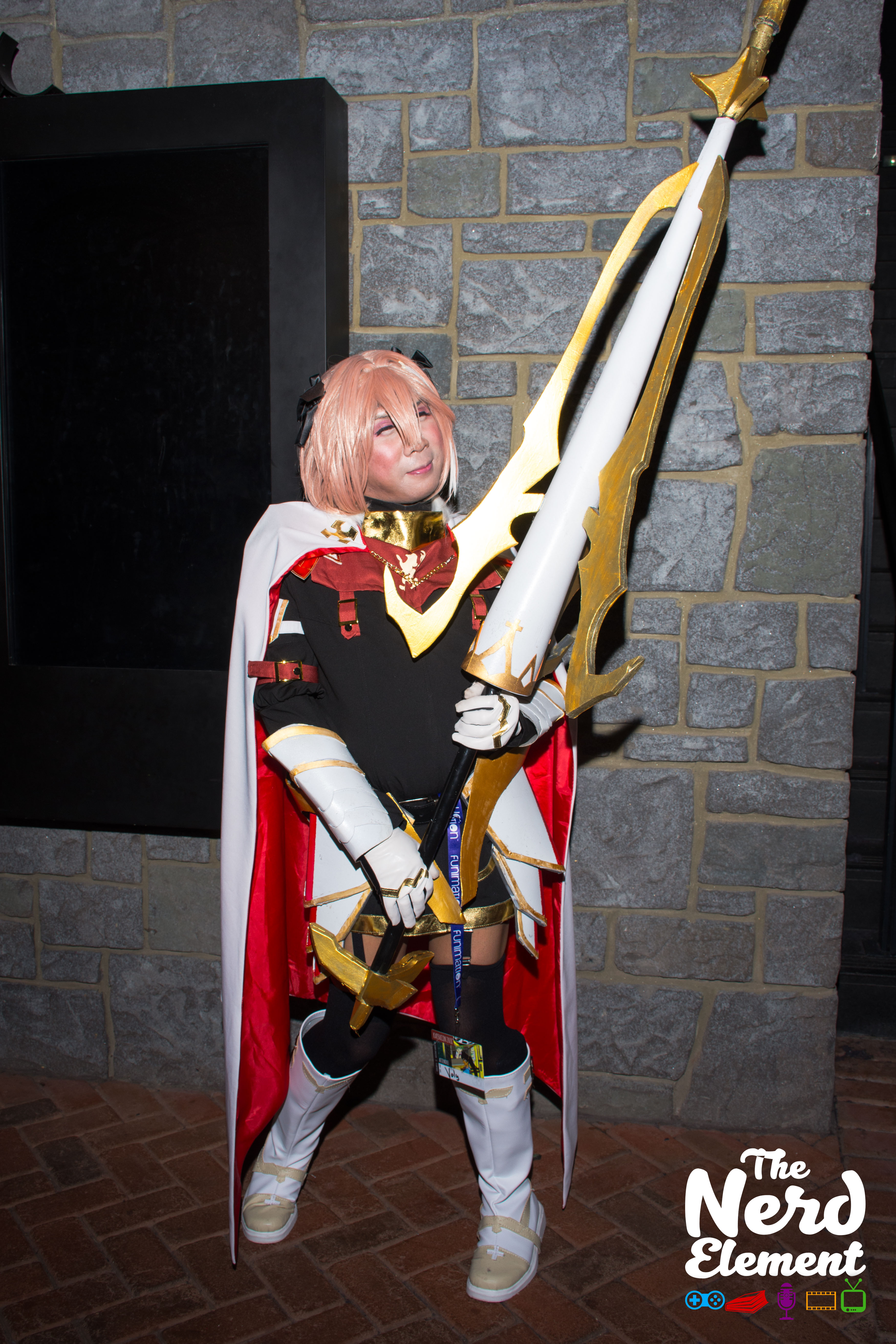 Astolfo - Fate/Apocrypha  Cosplayer unknown