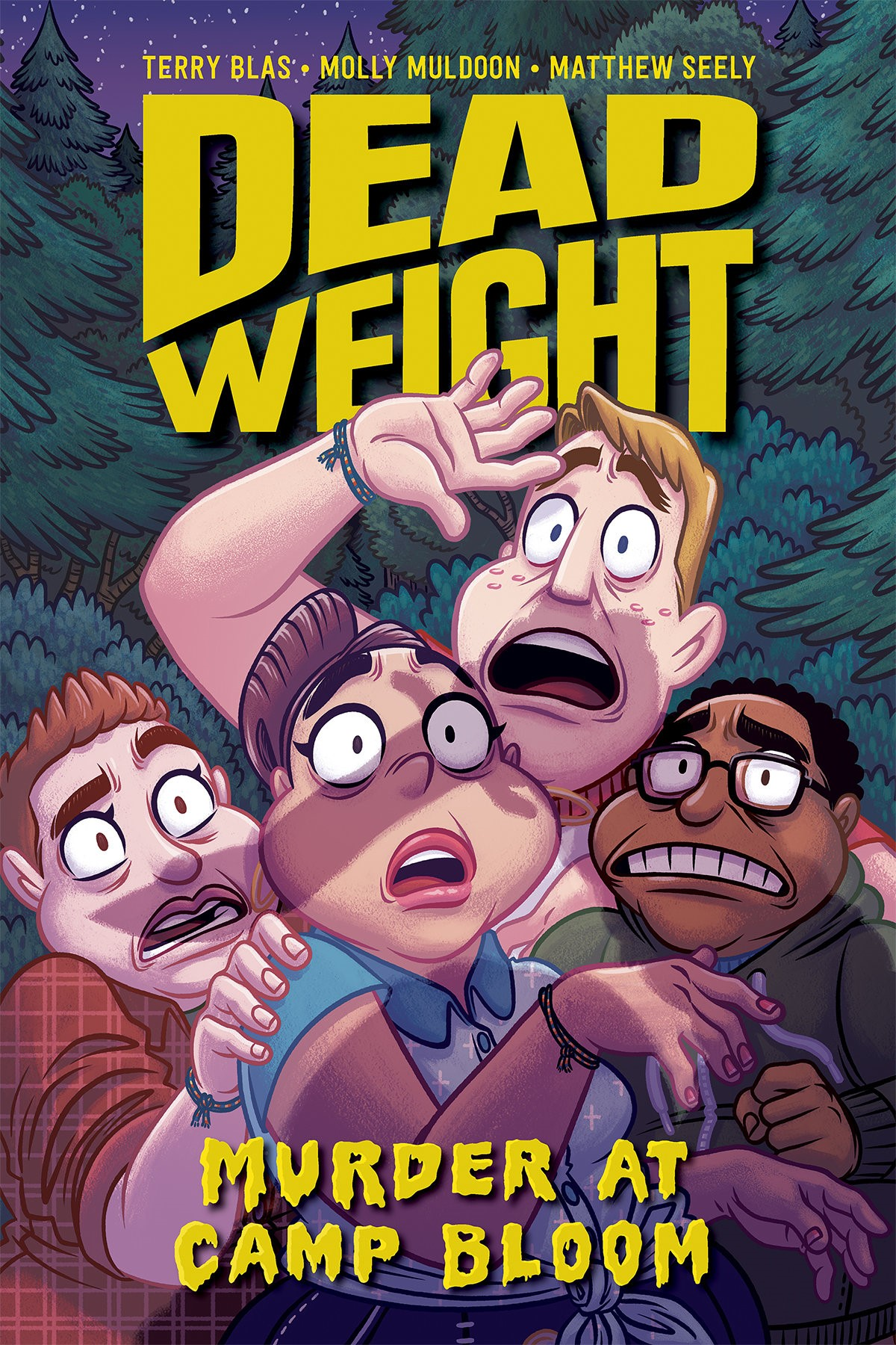 Dead Weight: Murder at Camp Bloom  by Terry Blas, Molly Muldoon and Matthew Seely