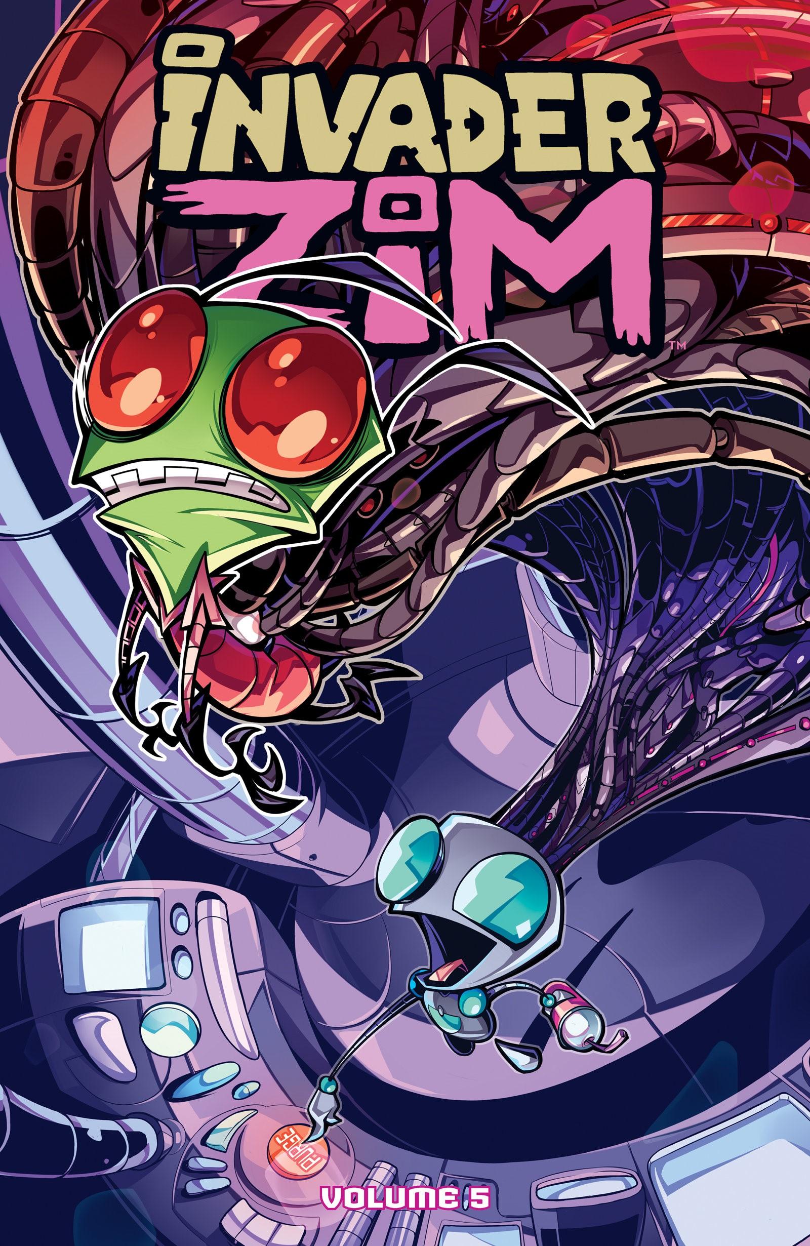Invader ZIM Volumes 1-5