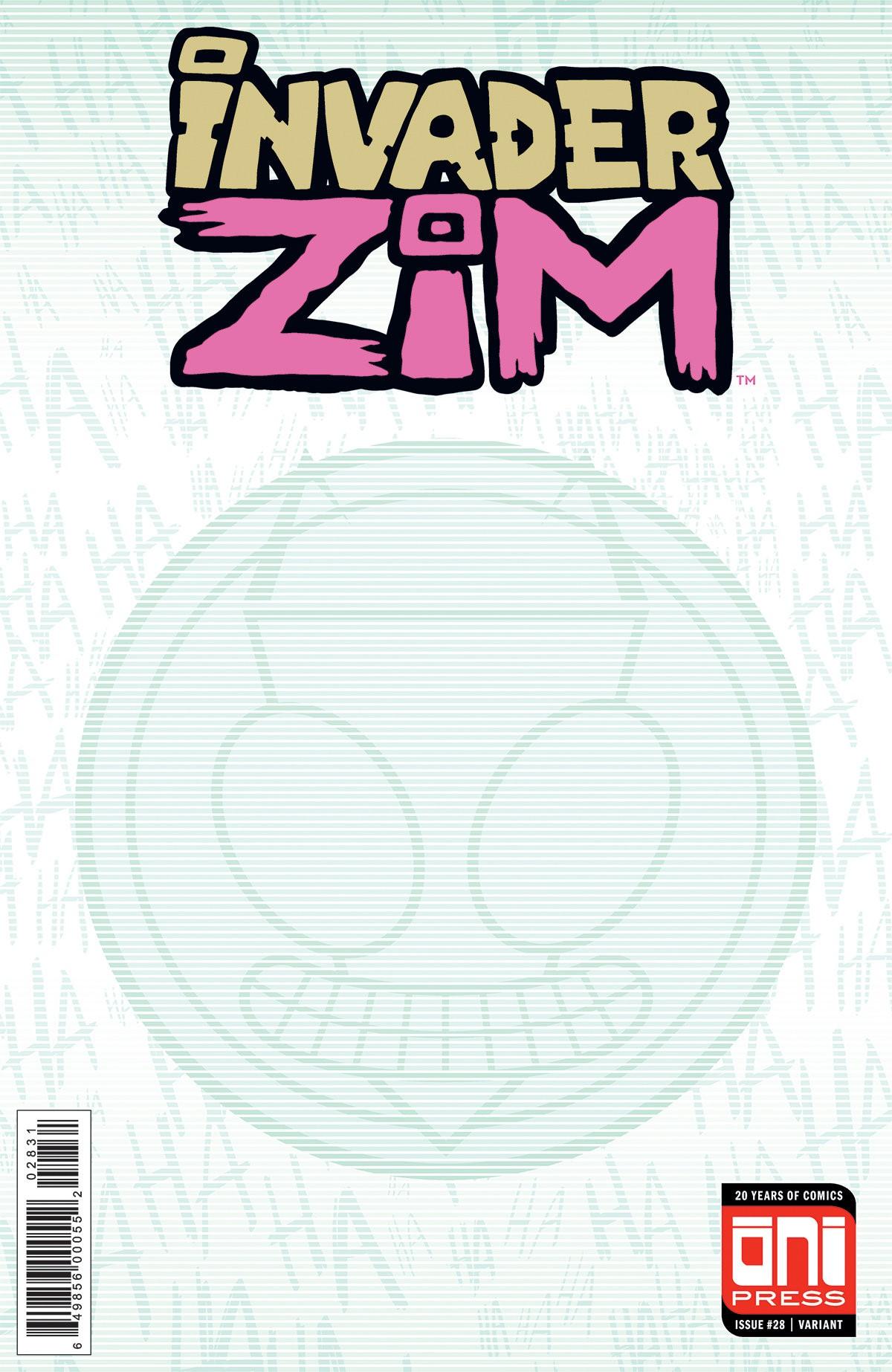 Invader Zim #28 Sketch Variant