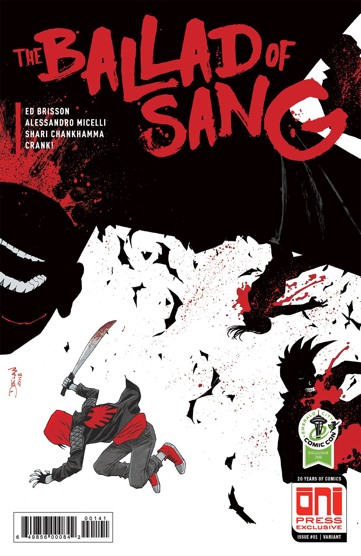 The Ballad of Sang #1 Variant Cover by Declan Shalvey