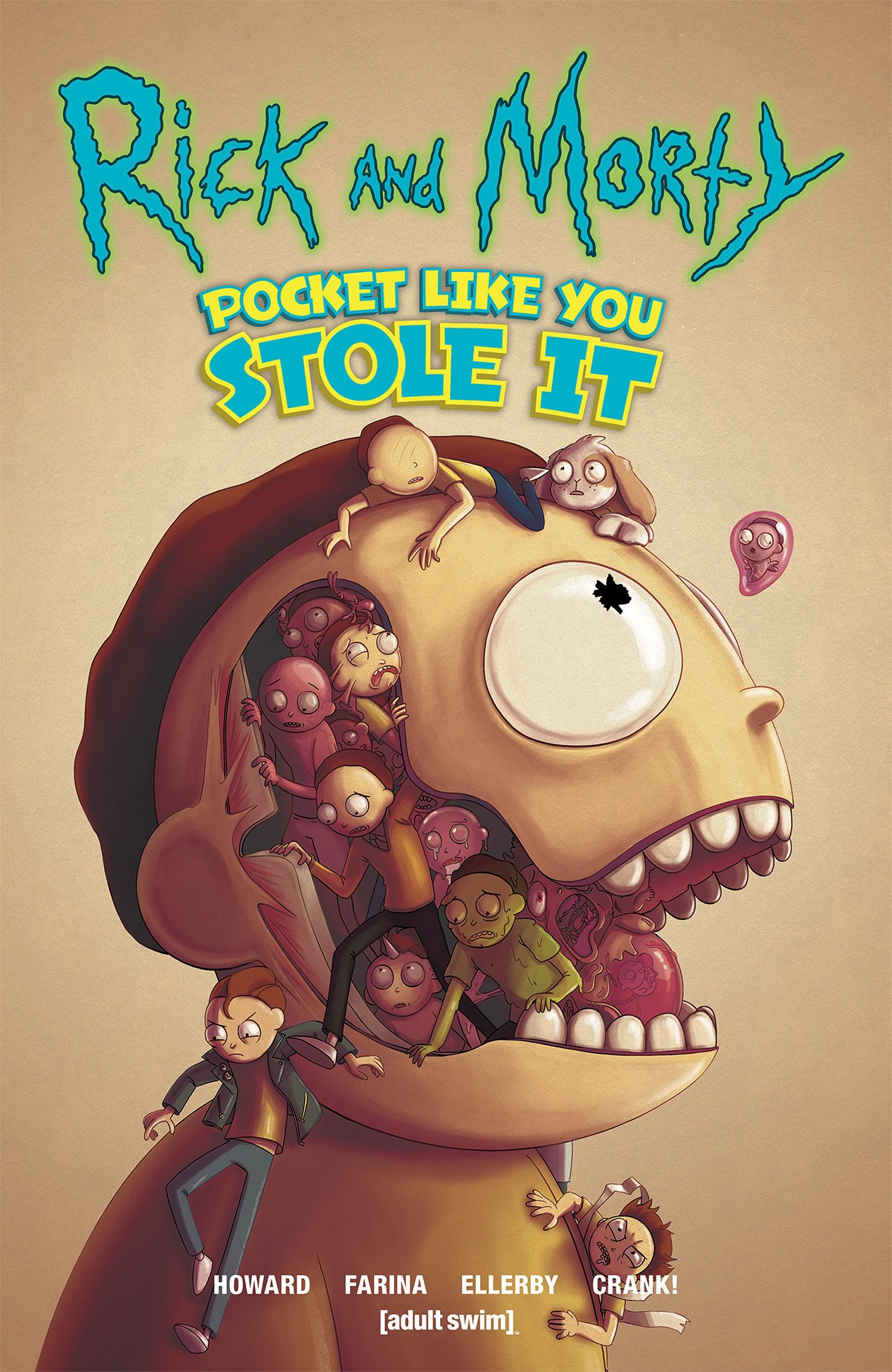 Rick and Morty™ Pocket Like You Stole It, Trade Paperback Variant by Julieta Colás