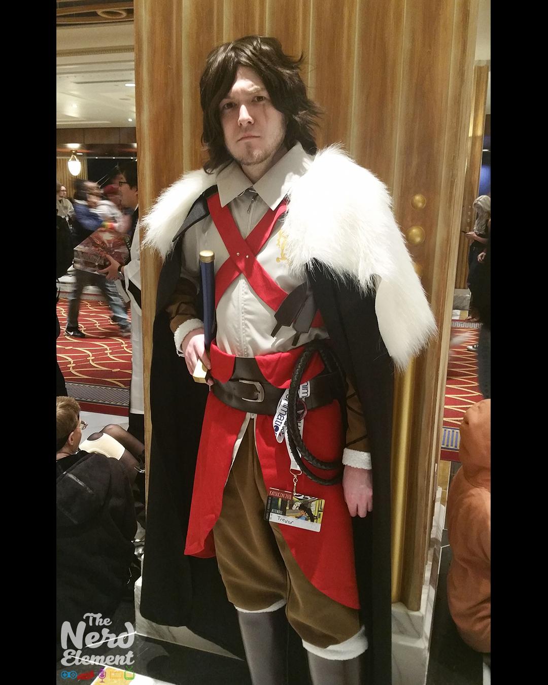 Trevor Belmont - Netflix's Castlevania Cosplayer: Rory P.