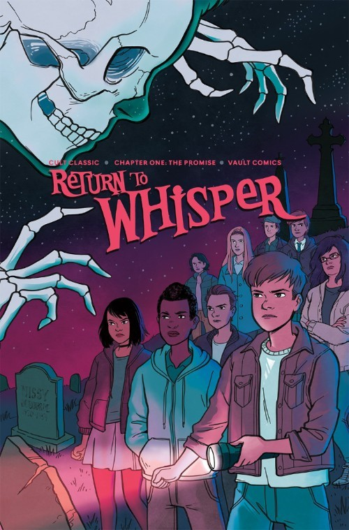 CULT CLASSIC: RETURN TO WHISPER #1 ECCC EXCLUSIVE COVER BY LISA STERLE