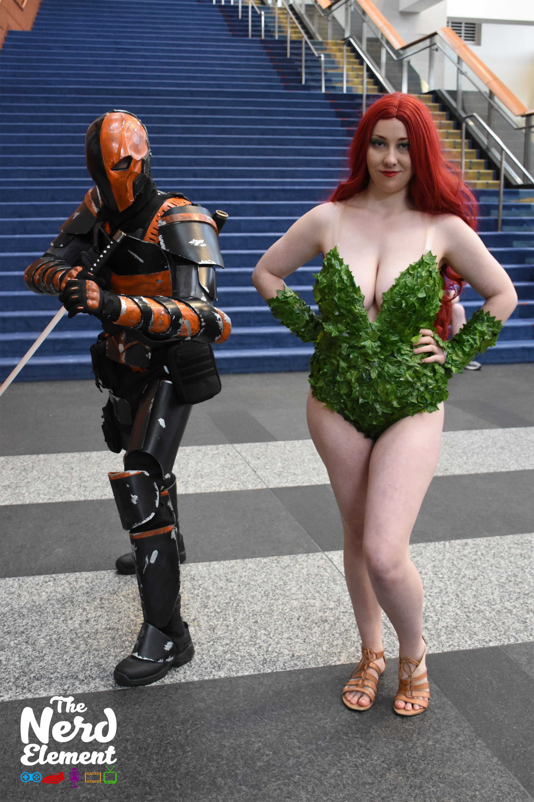 Deathstroke and Poison Ivy (IG: prettyinblack102)