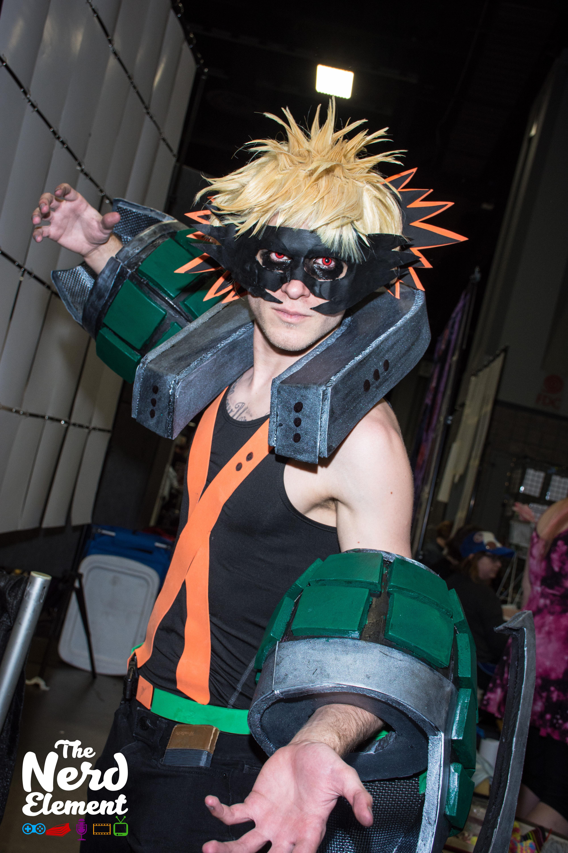 Bakugo Katsuki - My Hero Academia Cosplayer: (JohnGablesCosplay)