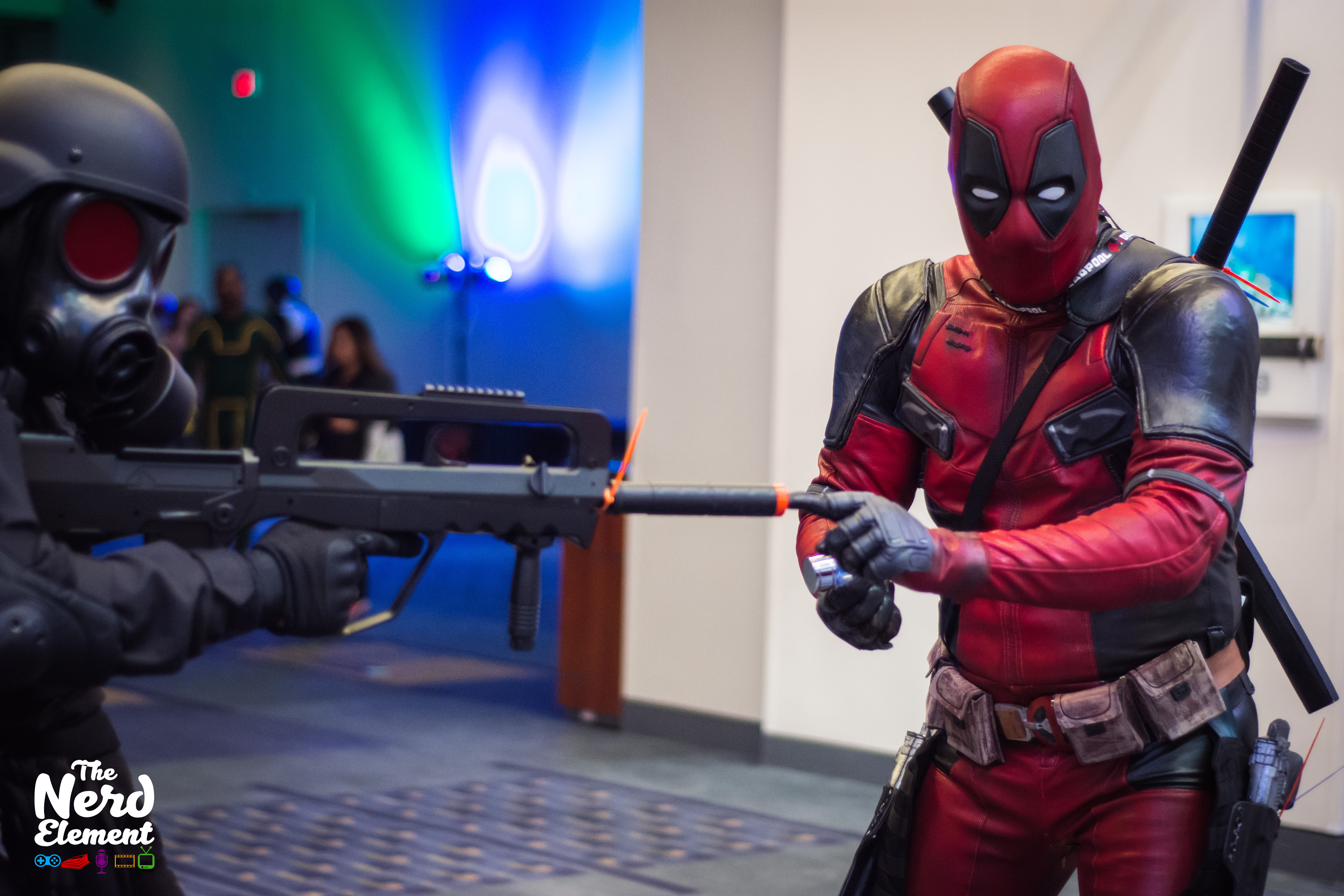 Umbrella Corp. Soldier - Resident Evil and Deadpool
