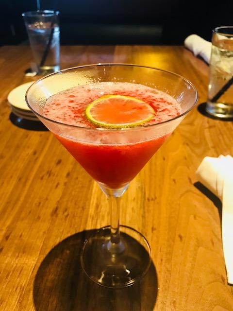 Raspberry Pom Martini